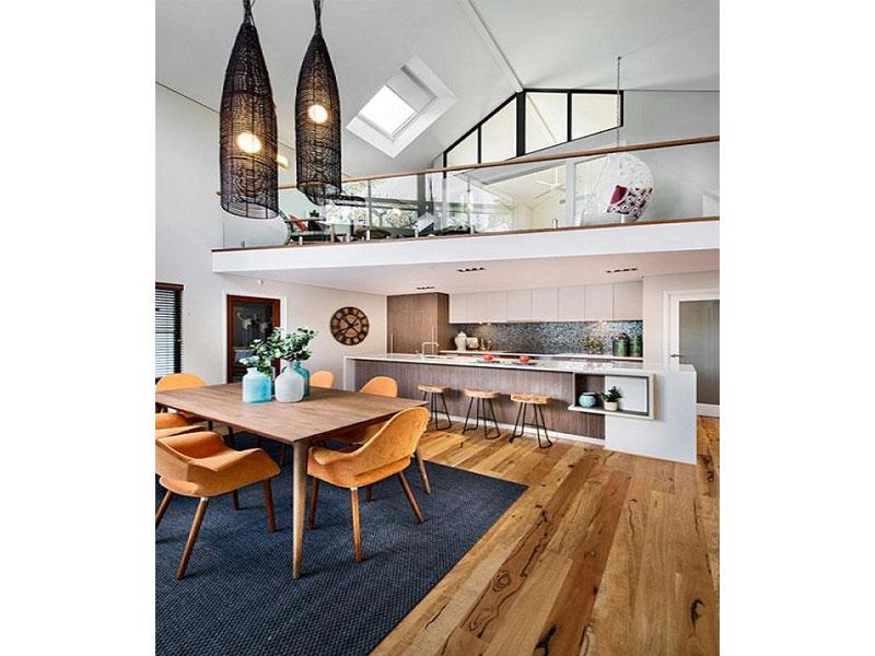 không gian phòng ăn tại nhà bếp