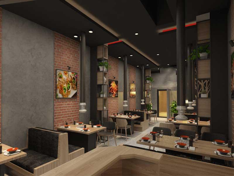 thiết kế nhà hàng đẹp đà nẵng