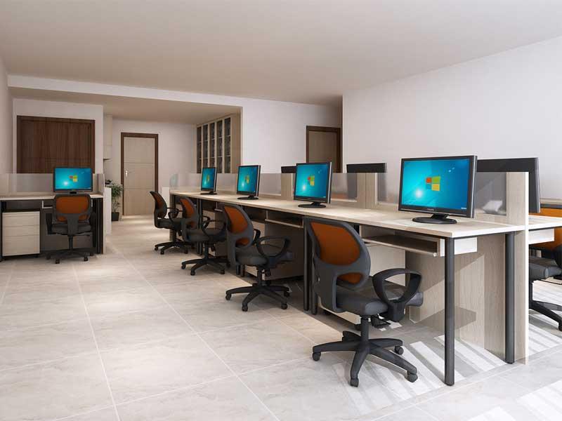 mẫu văn phòng phù hợp với doanh nghiệp nhỏ
