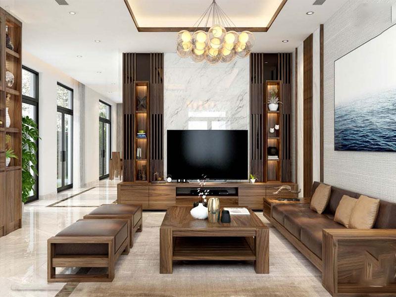 thiết kế chung cư theo phong cách hiện đại