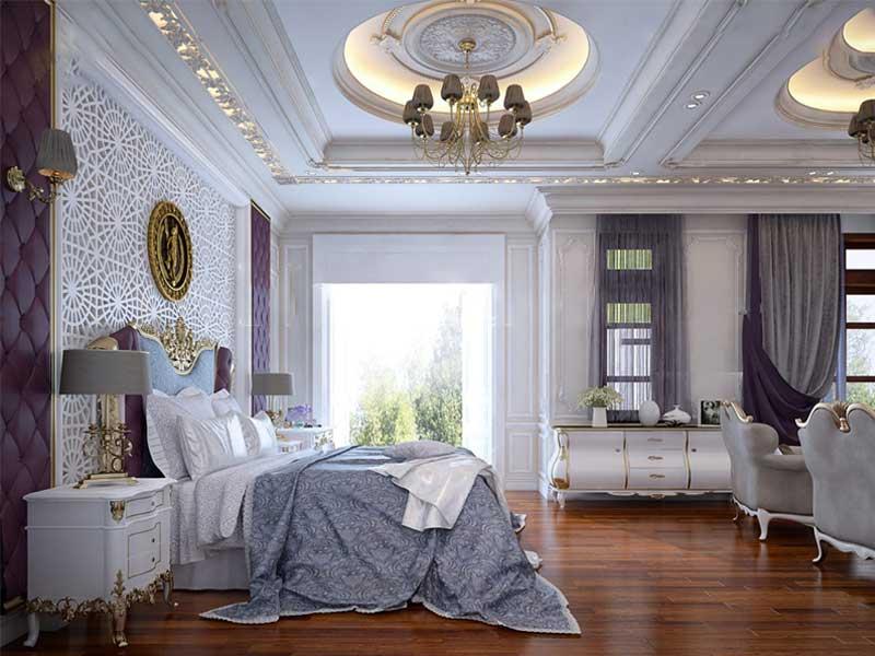 trang trí phòng ngủ khách sạn
