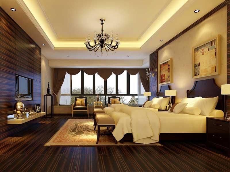 thiết kế phòng ngủ khách sản