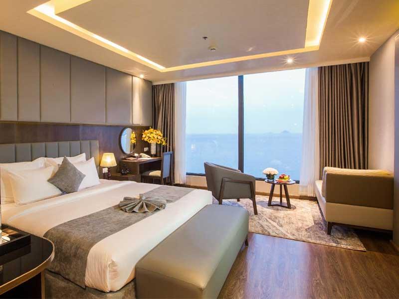 thiết kế nội thất phòng ngủ cho khách sạn 4 sao