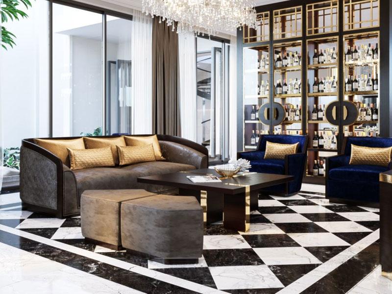 xu hướng thiết kế nội thất biệt thự hiện đại