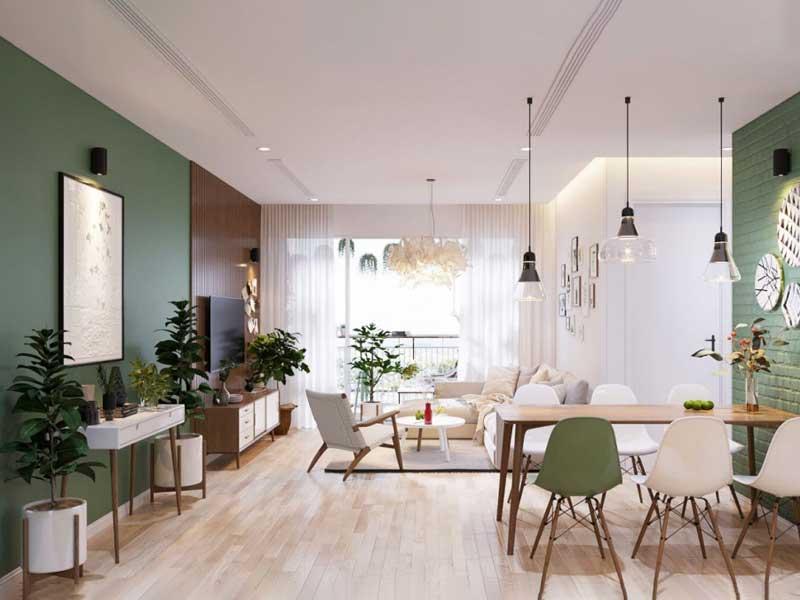 xu hướng nội thất hòa hợp với môi trường xanh