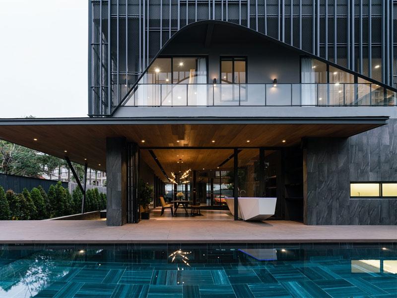 thiết kế khách sạn sang trọng