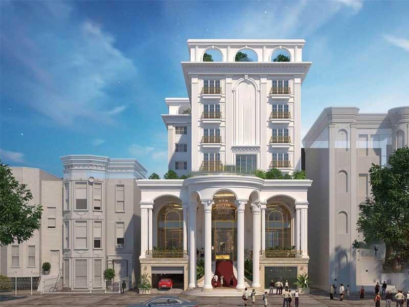 mẫu khách sạn mang phong cách Châu Âu