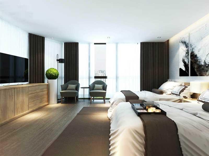 phòng ngủ đôi của khách sạn 5 sao