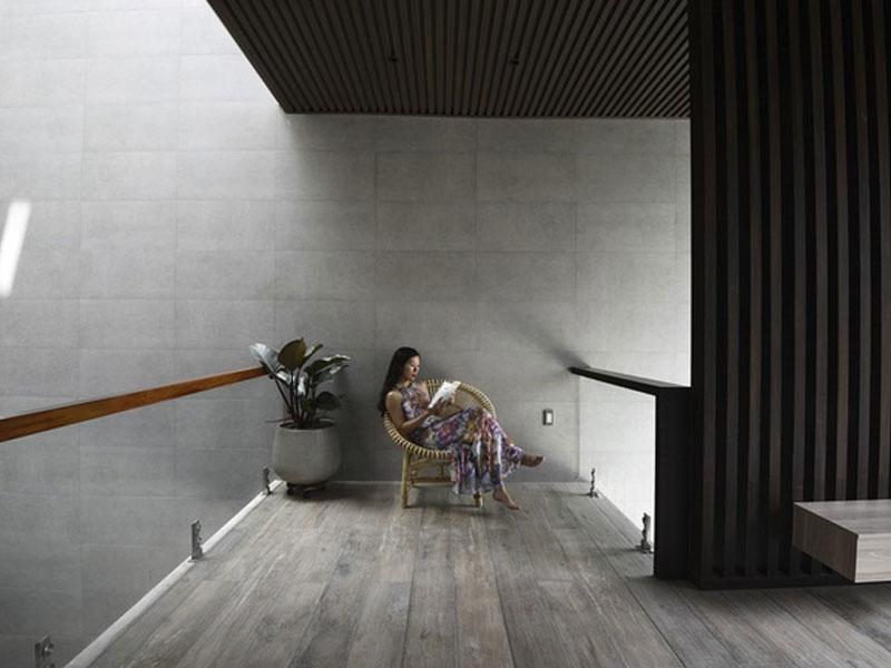 không gian nhà đẹp thiết kế lạ