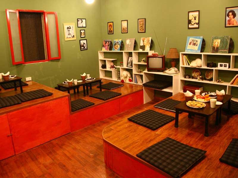 thiết kế nội thất quán cafe bệt