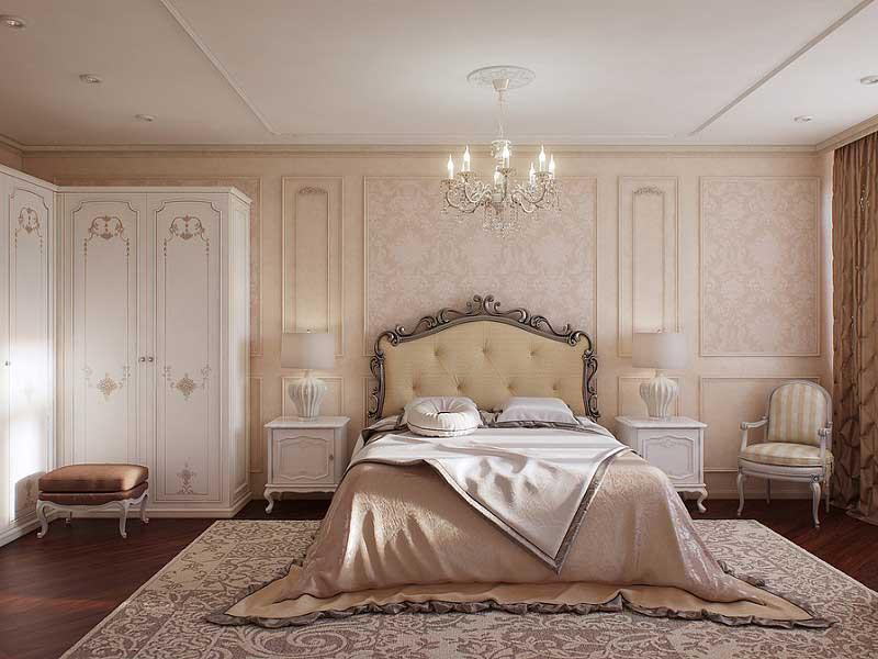 phong ngủ 5 sao mang phong cách sang trọng