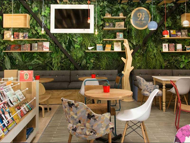 quán cafe sách