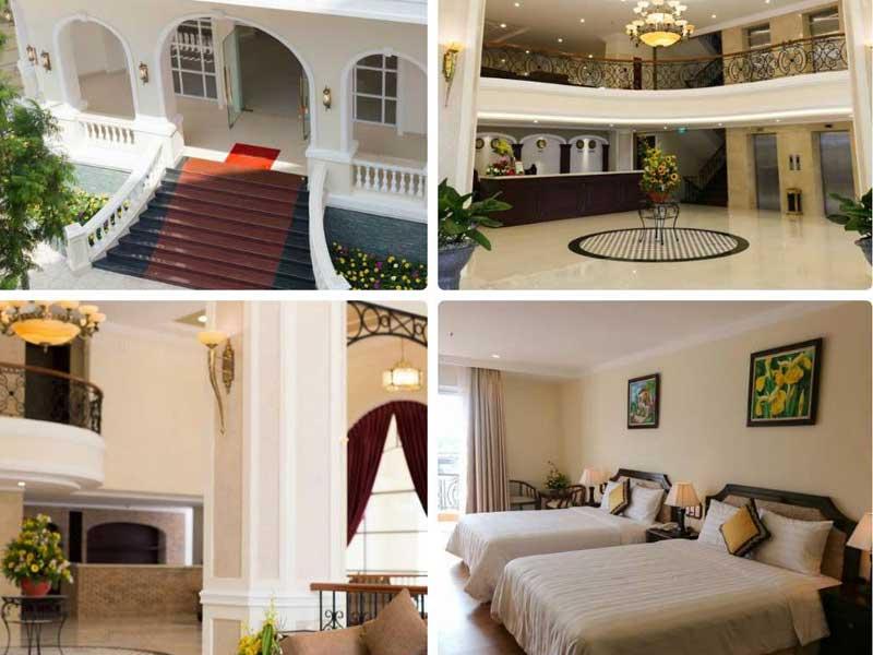 một số mẫu thiết kế khách sạn sang trọng