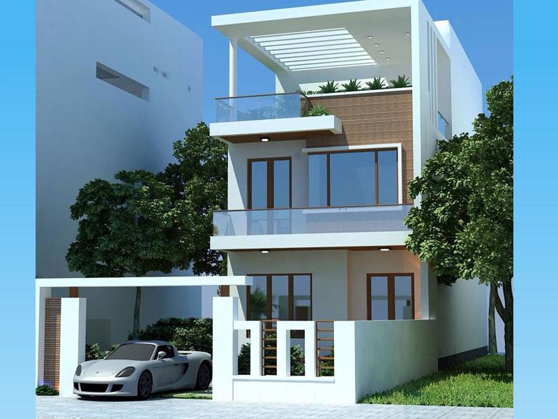 Nhà ở 3 tầng đẹp
