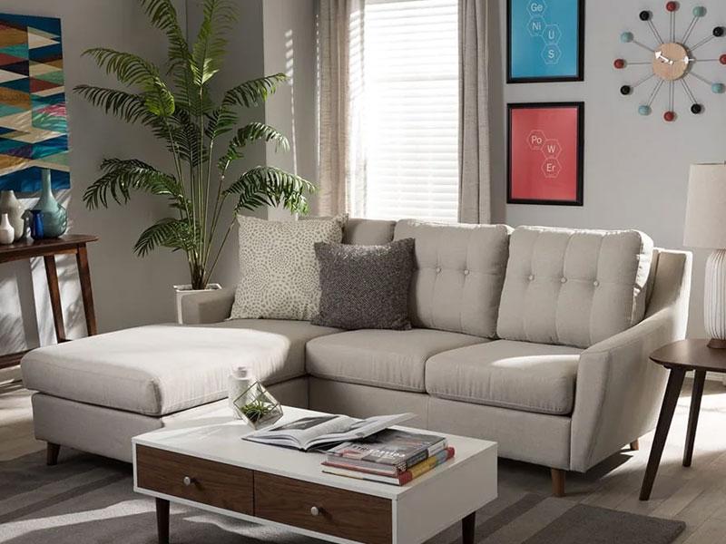 Mẫu phòng khách thiết kế tối giản