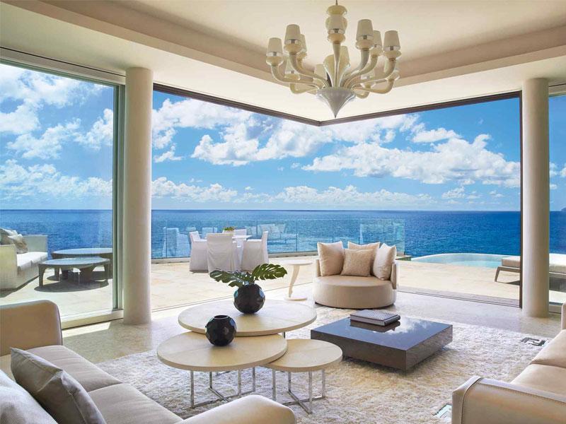 Mẫu phòng khách hiện đại với thiết kế mang xu hướng không gian mở