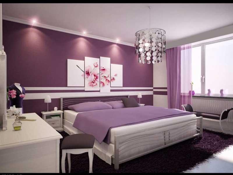 Chọn màu sắc cho thiết kế phòng ngủ