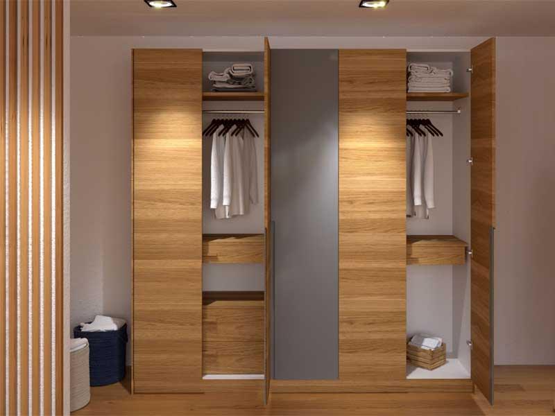 Một số mẫu tủ quần áo gỗ công nghiệp