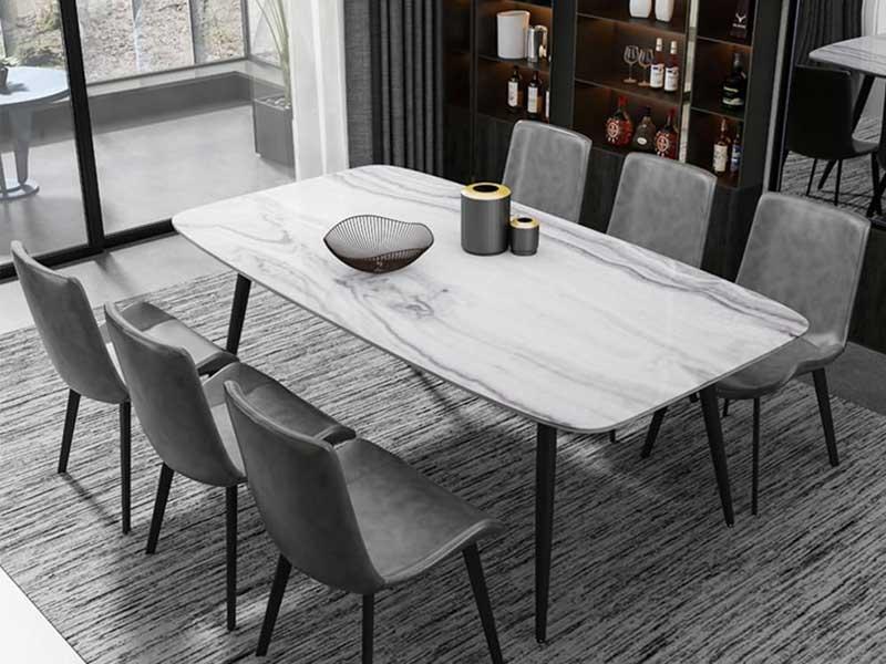 Bộ bàn ghế ăn gỗ tự nhiên