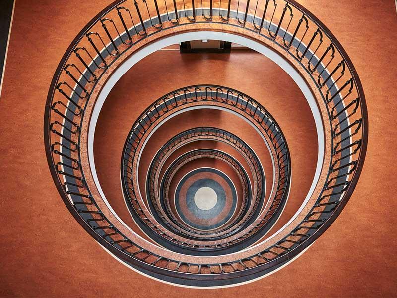 Cầu thang xoắn ốc - Giải pháp thiết kế cho những ngôi nhà đẹp
