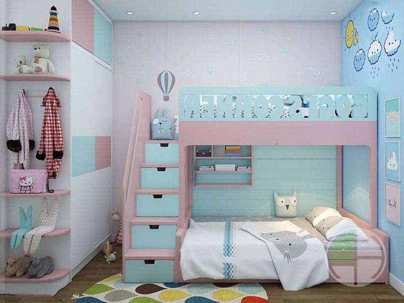 Một số nội thất nên có trong phòng ngủ của bé?
