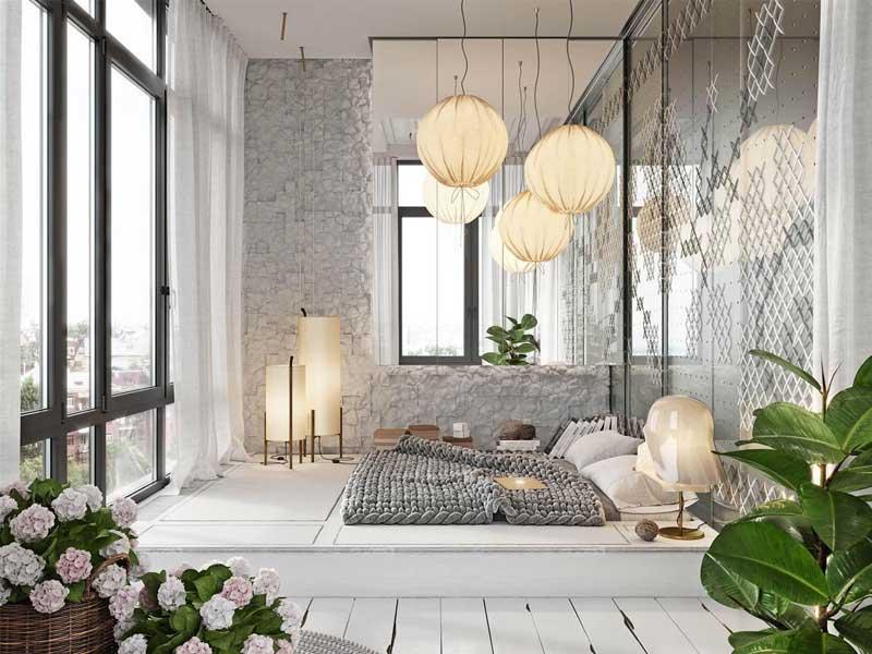 4 kiểu thiết kế phòng ngủ đẹp