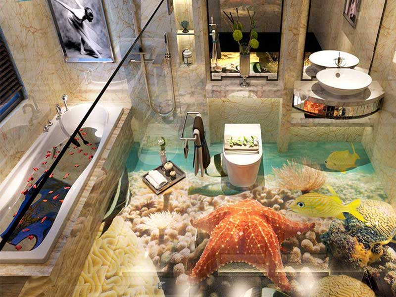 thiết kế phòng vệ sinh 3D