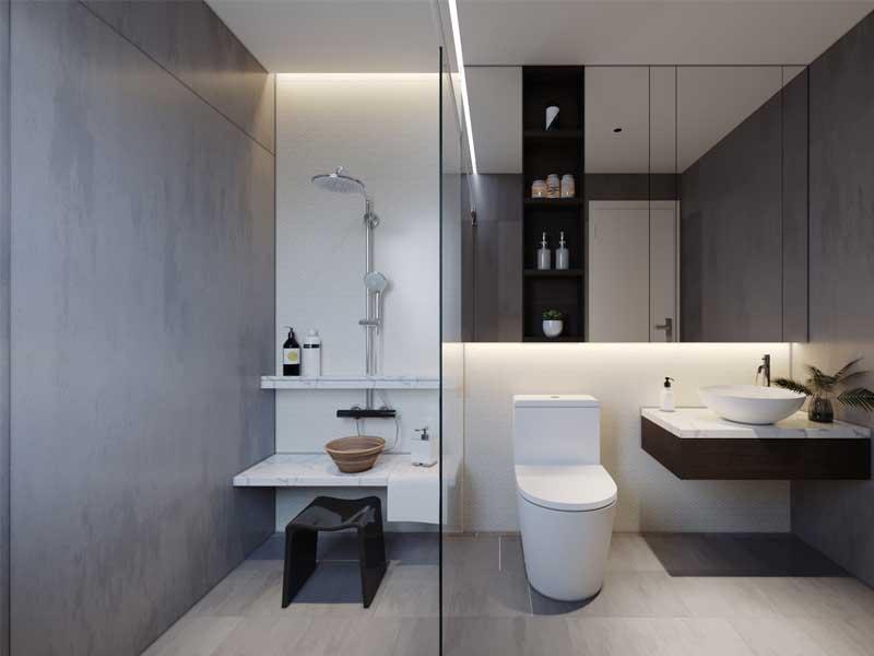 Nhà vệ sinh bình dân