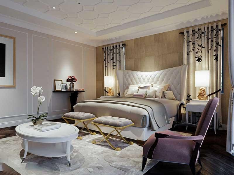 Khi thiết kế phòng ngủ bạn nên chú ý gì?