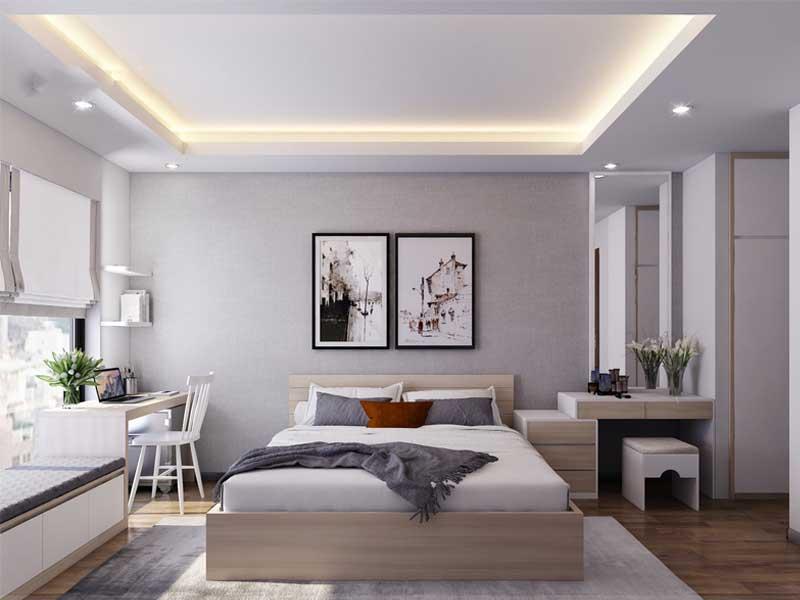 Mẫu giường ngủ theo phong cách Châu Âu