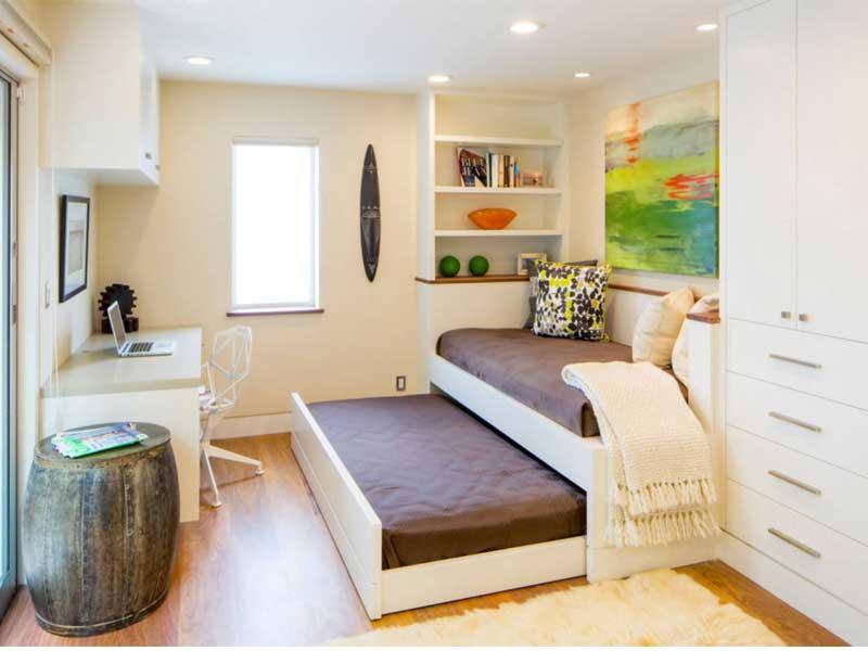 xu hướng thiết kế phòng ngủ đa năng