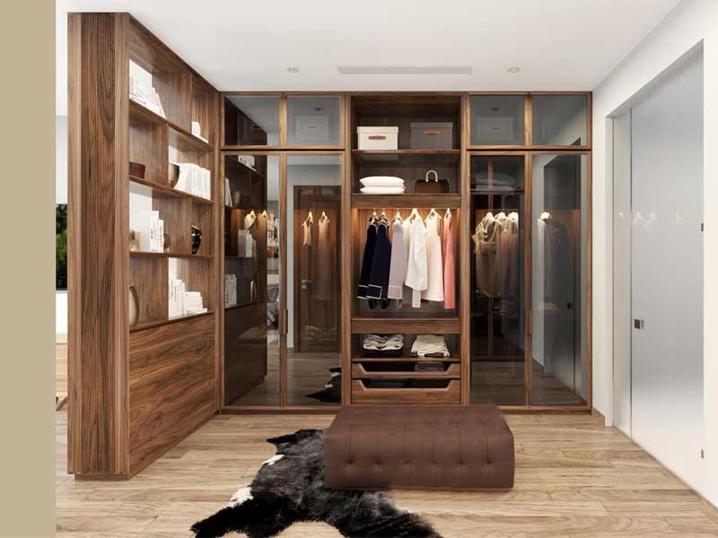Thiết kế nội thất thông minh - Tủ quần áo