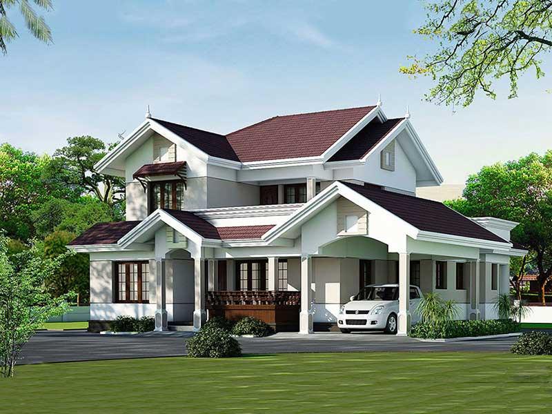 Xây nhà phố Đà Nẵng Licogi 10