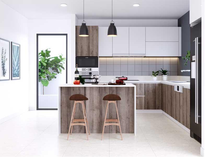 5 vật liệu ốp tường giúp thiết kế phòng bếp đẹp hơn