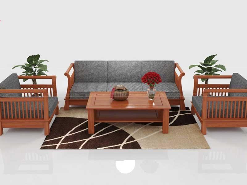 Bộ bàn ghế gỗ xoan đà nẵng