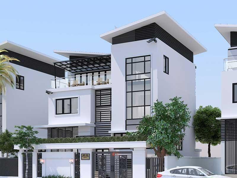 Mẫu thiết kế nhà phố Đà Nẵng