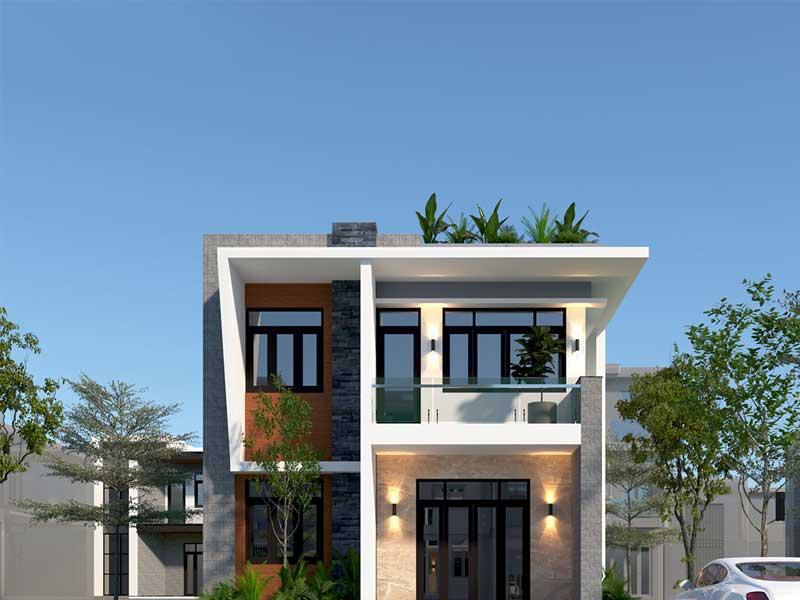 mẫu thiết kế nhà phố đẹp đà nẵng
