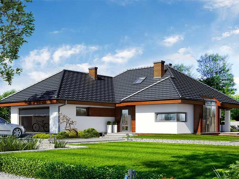 Nhà vườn phong cách Châu Âu