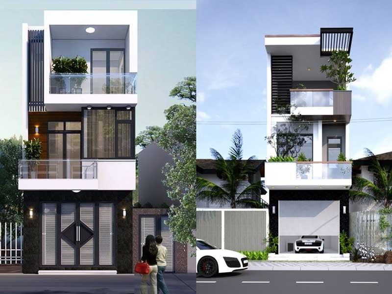 Những mẫu nhà phố đẹp 2020
