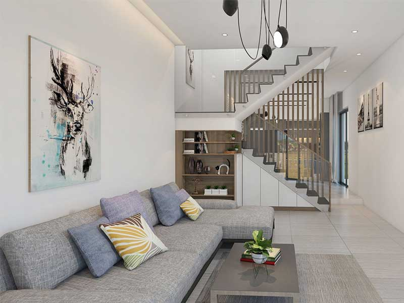 Thiết kế nội thất mang phong cách hiện đại