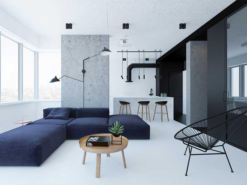 Thiết kế nội thất theo phong cách tối giản