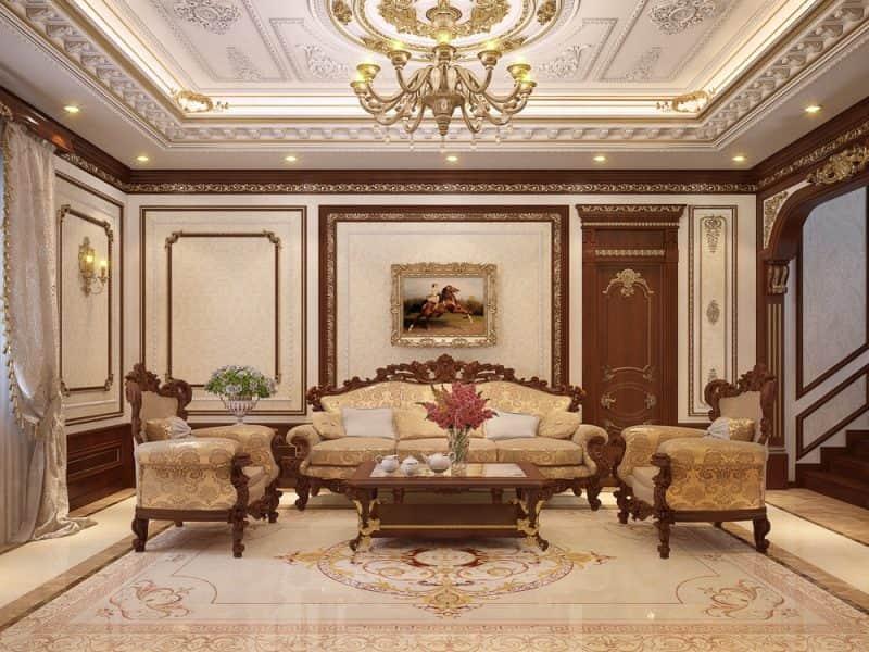 trang trí thiết kế nội thất tân cổ điển