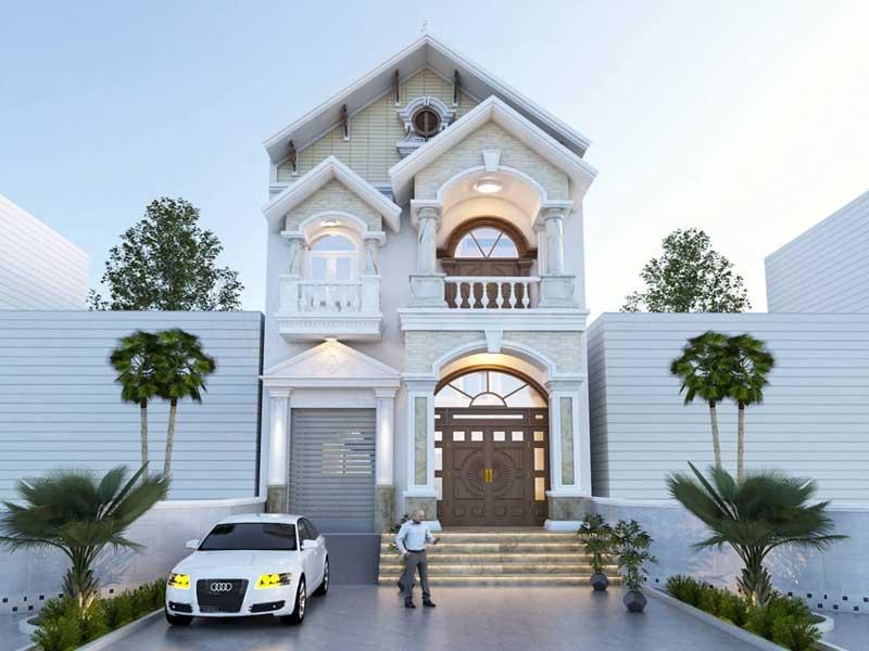 xây dựng thiết kế nhà mặt phố