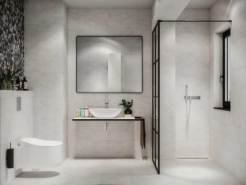 Xu hướng thiết kế phòng tắm Đà Nẵng bằng chất liệu bê tông