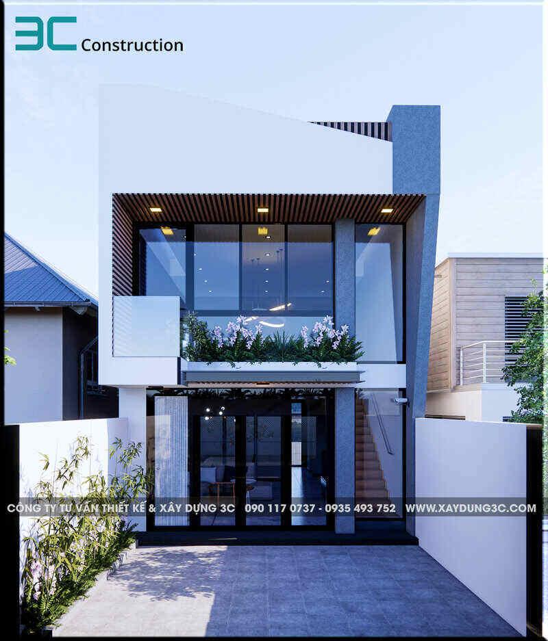 Thiết kế tổng quan toàn ngôi nhà