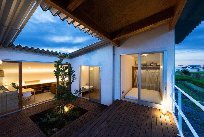 Kiến trúc bên trong căn nhà