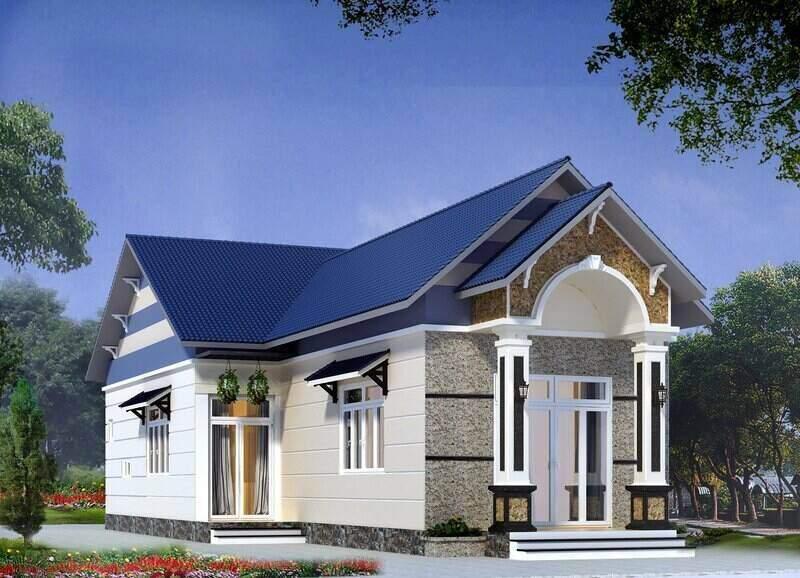 Kiến trúc mái Thái sang trọng thanh lịch