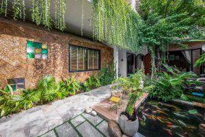 dự án thiết kế nhà vườn trọn gói đã thi công