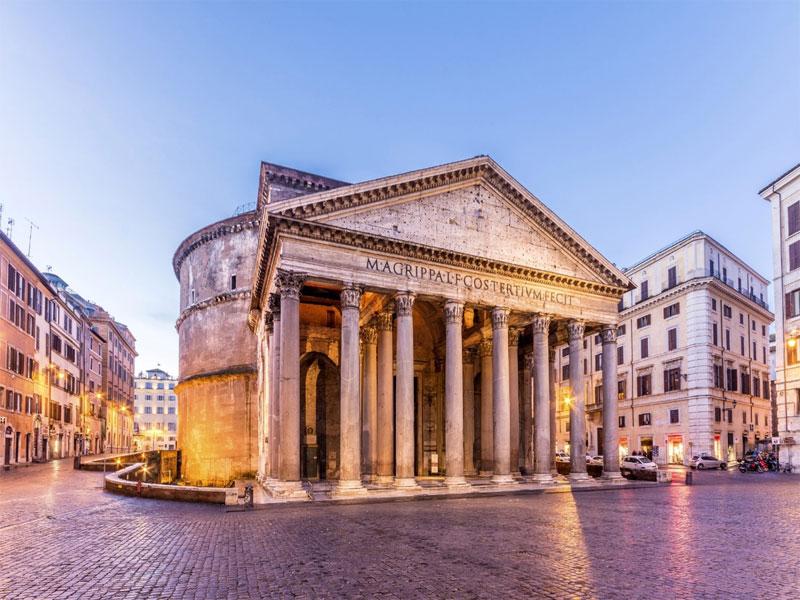 Kết hợp kiến trúc La Mã và Hy Lạp