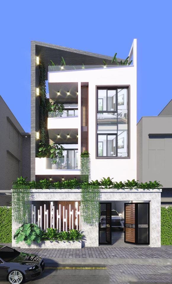 Thiết kế nhà có gara